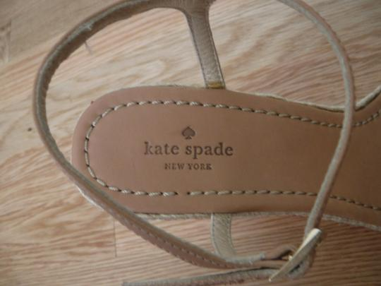 Kate Spade Red/Cream Wedges