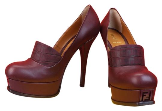 Preload https://item1.tradesy.com/images/fendi-burgundy-leather-fendista-crocco-print-band-platform-pumps-size-us-85-regular-m-b-3809635-0-0.jpg?width=440&height=440