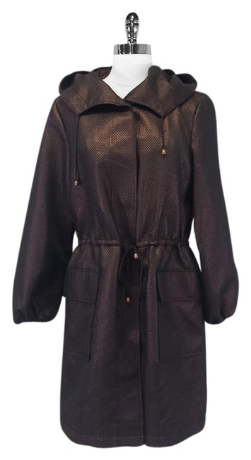 Dana Buchman Metallic Cinched Bronze Jacket