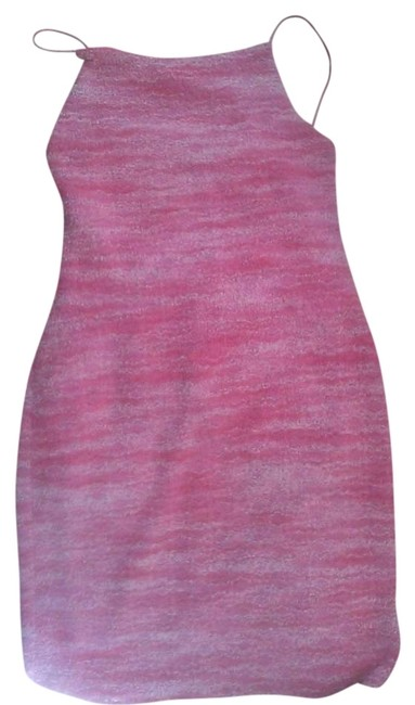 Preload https://item4.tradesy.com/images/pink-criss-cross-above-knee-night-out-dress-size-4-s-380993-0-0.jpg?width=400&height=650