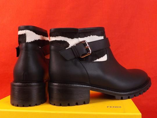 Fendi Black/White Boots