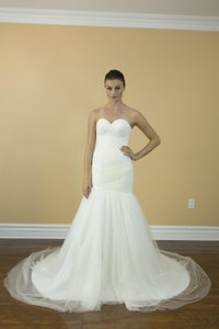 Handmade Simple Plain Traditional Mermaid Sweetheart Line Wedding Dress Beach Wedding Dress Wedding Dress
