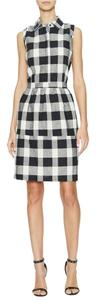 Elorie short dress Black and White Plaid on Tradesy