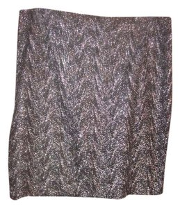 Jones New York Skirt Black and silver