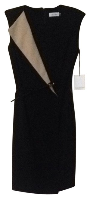Preload https://img-static.tradesy.com/item/3810994/calvin-klein-black-belted-pencil-mid-length-workoffice-dress-size-2-xs-0-0-650-650.jpg