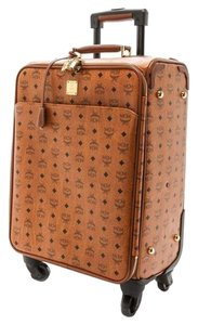 MCM Cognac Travel Bag