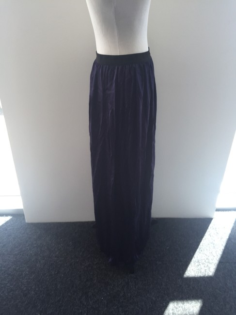 Forever 21 Maxi Skirt Purple