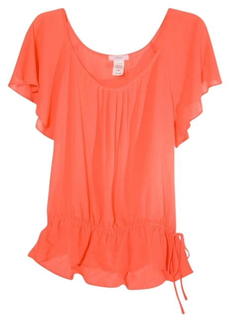 Item - Bright Coral Blouse Size 14 (L)