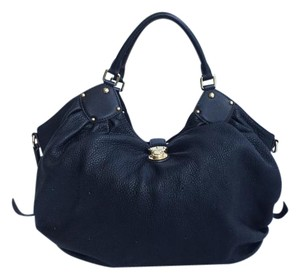 Louis Vuitton Neo Leather Hobo Bag
