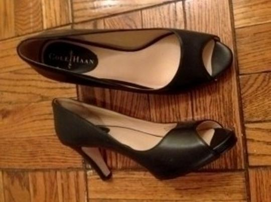 Cole Haan Black Leather Pumps