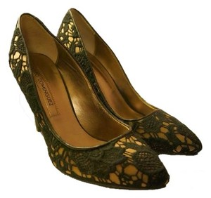 Adolfo Dominguez Black/multi Pumps