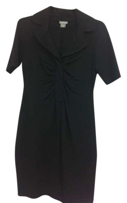 Preload https://item3.tradesy.com/images/ann-taylor-black-above-knee-workoffice-dress-size-4-s-381272-0-0.jpg?width=400&height=650