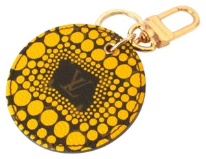 Louis Vuitton NEW Louis Vuitton Limited YAYOI PUMPKIN DOTS Key Holder Bag Charm Cles