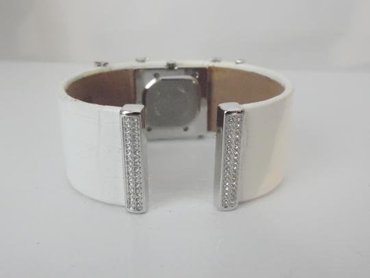 Victoria Wieck RARE Victoria Wieck Leather Crystal Cuff Watch