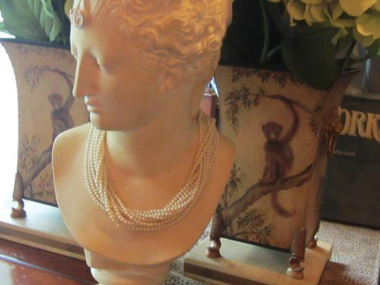 Carolee Carolee 18 Inch *diamond* Pendant Clasp Pearl Necklace