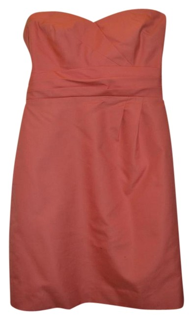 Preload https://img-static.tradesy.com/item/381337/jcrew-peach-raquel-above-knee-cocktail-dress-size-2-xs-0-1-650-650.jpg