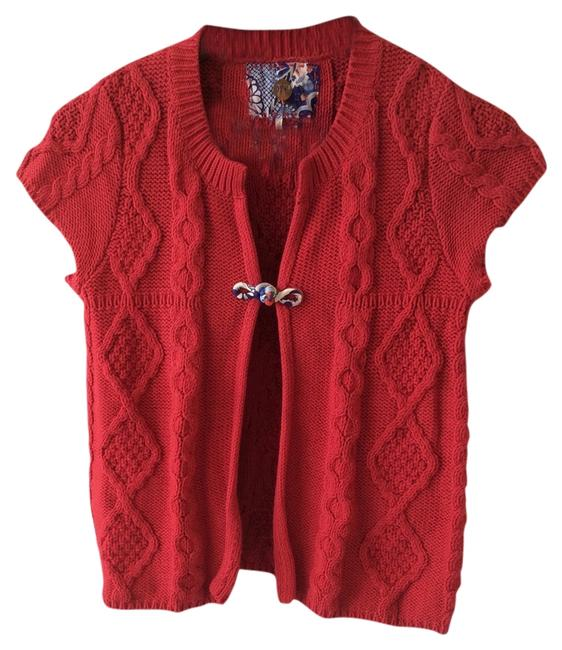 Preload https://img-static.tradesy.com/item/3813769/free-people-red-cable-knit-with-floral-kinmono-knot-closure-cardigan-size-8-m-0-0-650-650.jpg