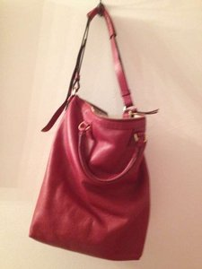 Diane von Furstenberg Dvf Gold Hardware Tote in Red