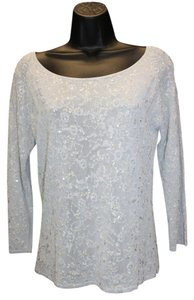 Oscar by Oscar de la Renta Embellished Top