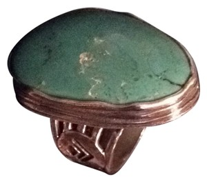 Silpada New Silpada Stabilized Turquoise And Sterling Silver Ring Size 7