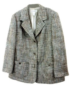 Appleseed's Multi-color Boucle Grey Multi-Color Blazer
