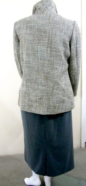 Appleseed's Boucle Grey Multi-Color Blazer