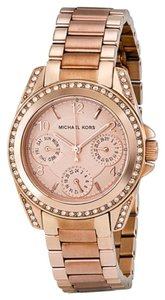 Michael Kors Michael Kors Multi-Function Crystal Rose Gold-tone Ladies Watch