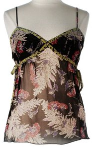 Anna Sui Silk Floral Top
