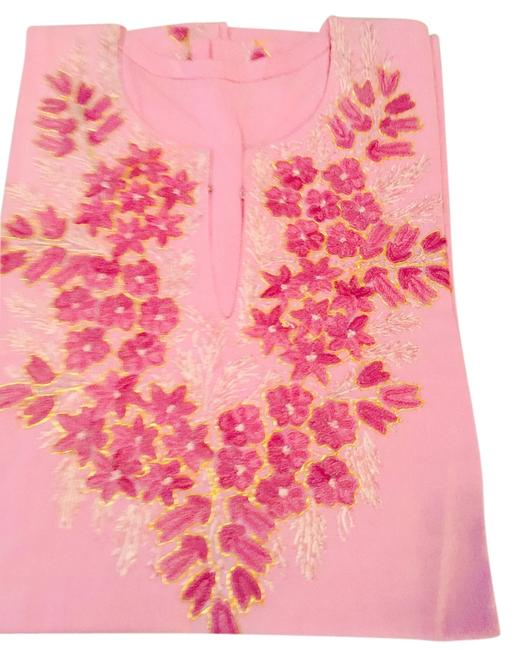 Preload https://item5.tradesy.com/images/pink-and-red-kashmiri-kurti-blouse-size-os-one-size-3814414-0-0.jpg?width=400&height=650