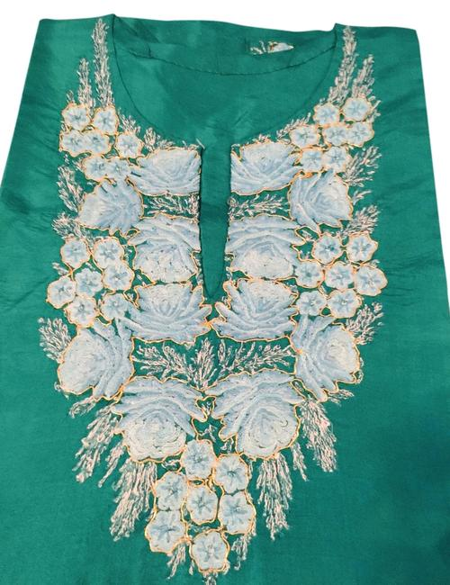 Preload https://item3.tradesy.com/images/green-and-cream-kashmiri-kurti-blouse-size-os-one-size-3814582-0-0.jpg?width=400&height=650
