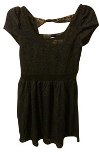 Wet Seal short dress Black Lace on Tradesy