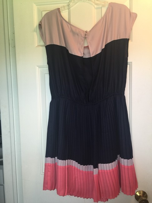 American Eagle Outfitters short dress Summer Ombre Open Back Spring Pleated on Tradesy