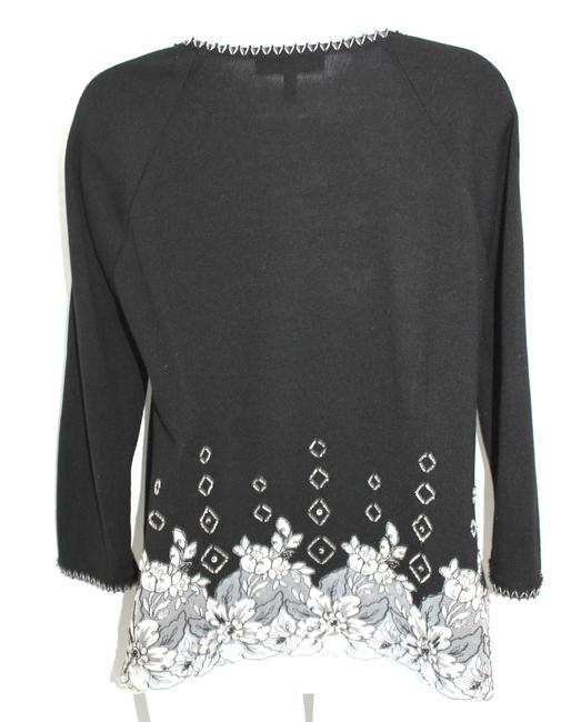 Escada Wool Knit Black Top