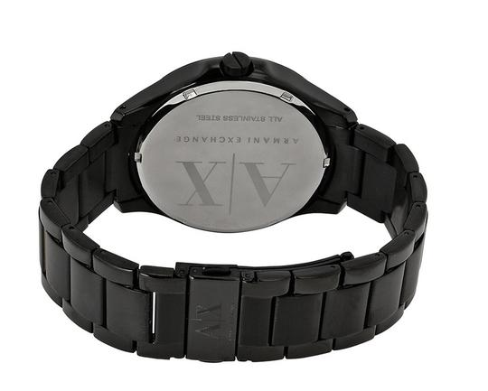 A|X Armani Exchange Armani Exchange Black Dial Black Ion-plated Mens Watch AX2150