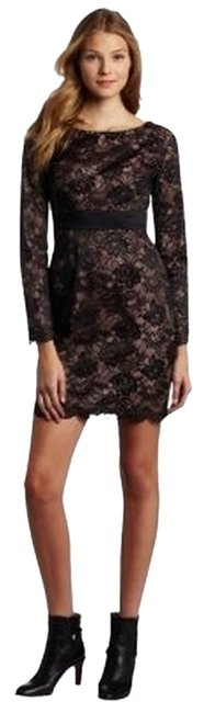 Preload https://item3.tradesy.com/images/trina-turk-black-lace-dantelle-above-knee-cocktail-dress-size-4-s-38157-0-0.jpg?width=400&height=650