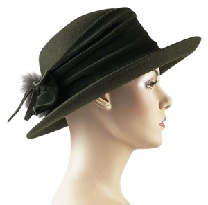 Galliano Sorbatti Ialian Green Hat