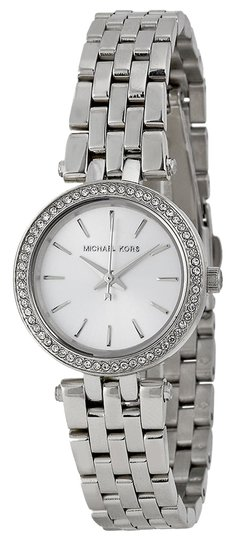 Michael Kors Michael Kors Silver Crystal Dial Stainless Steel Ladies Watch