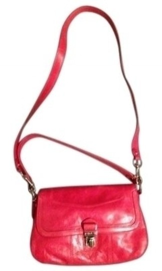 Preload https://item2.tradesy.com/images/coach-hot-pink-leather-cross-body-bag-38166-0-0.jpg?width=440&height=440