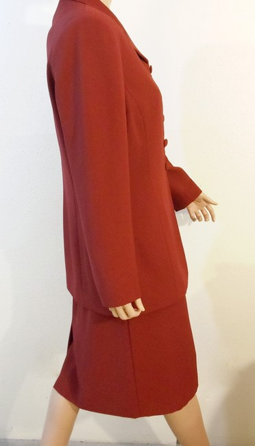 Le Suit Two-Piece Long Jacket Skirt Ensemble