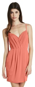 BCBGeneration short dress Salmon wine on Tradesy