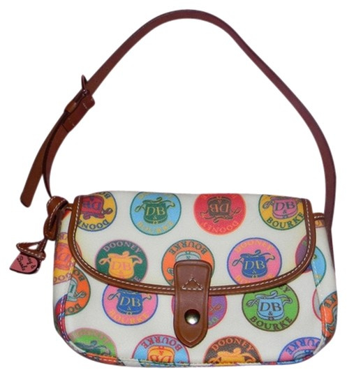 Preload https://item4.tradesy.com/images/dooney-and-bourke-small-flap-logo-multi-color-coated-canvas-leather-baguette-3816913-0-0.jpg?width=440&height=440