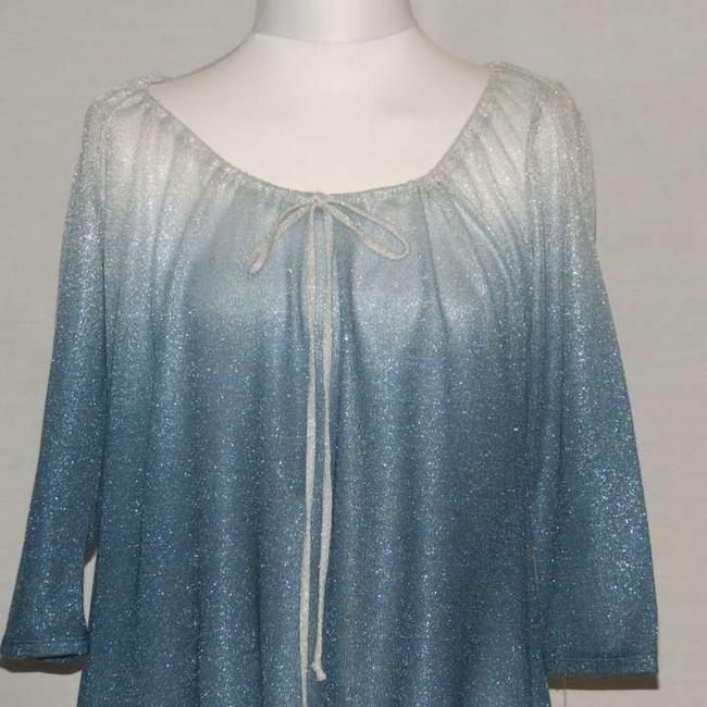 Only Nine Petite Top Blue