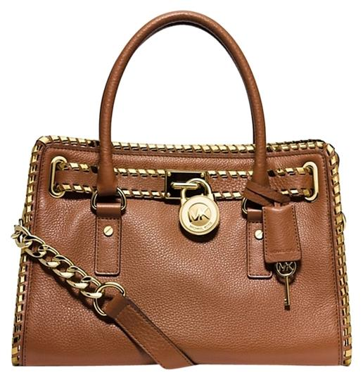Preload https://img-static.tradesy.com/item/3817351/michael-kors-hamilton-whipstitch-trim-leather-satchel-0-0-540-540.jpg