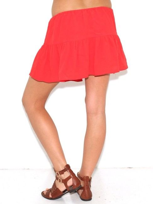 Olivaceous Skirt Red