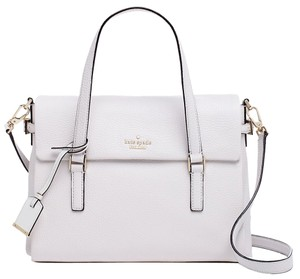 Kate Spade Holden Street Leslie Purse Crossbody Purse Tote in White