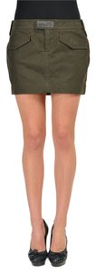 Dsquared2 Mini Skirt Khaki Green