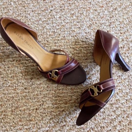 Ellen Tracy Brown Pumps