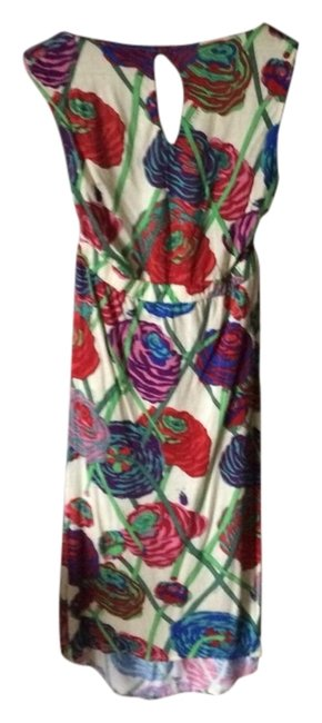 T-Bags Los Angeles short dress Rose And Beetle Print on Tradesy