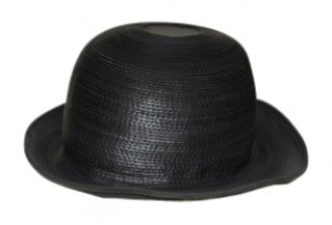 Patricia Underwood Stitched Leather Soft Bowler Style