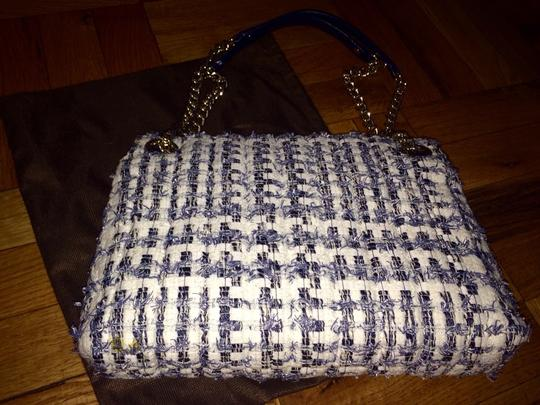 Kate Spade Plaid Chain Quilted Shoulder Bag